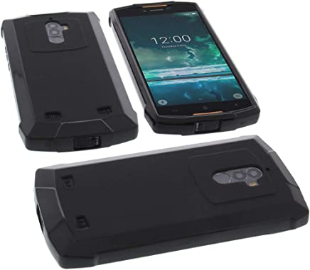 foto-kontor Funda para Doogee S55 / S55 Lite Protectora de Goma TPU para móvil Negra