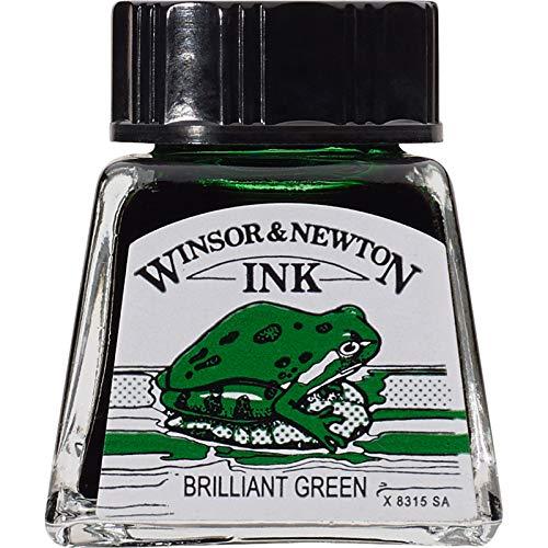 Winsor & Newton Inchiostro Colorato Da Disegno 14ml - Verde Brillante