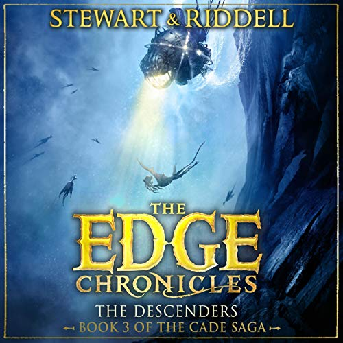 The Edge Chronicles 13: The Descenders     Third Book of Cade              By:                                                                                                                                 Paul Stewart,                                                                                        Chris Riddell                               Narrated by:                                                                                                                                 Dominic Thorburn                      Length: 10 hrs and 3 mins     1 rating     Overall 5.0
