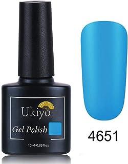 Ukiyo ジェルネイル カラージェル ワンステップ マット ネイルジェル ベース、トップコート不要 1色入り 10ml【全16色選択可】