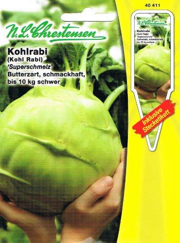 Kohlrabi Superschmelz weiß bis 10 kg schwer