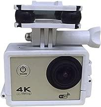 Cewaal Sport Camera Holder Mount Frame Bracket with Gimble Gimbal For Syma X8C X8W X8G X8 RC Quadcopter Drone White