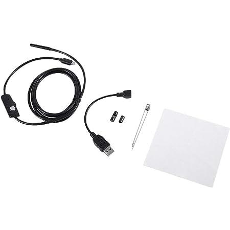 Owsoo Endoskop 7mm 6 Led Objektiv Ip67 Wasserdichte Inspektion Endoskop Drahtschlange Rohr Kamera Für Otg Kompatibel Mit Ios Smart Phone Pc 10m Baumarkt