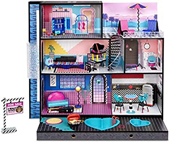 LOL Surprise Home Sweet with OMG Doll Real Wood Doll House
