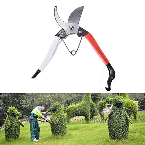 Permet outils de jardin à cliquet en acier au carbone d'élagage cisaillement jardinage Arbre Fleur Sécateur Outil de découpe
