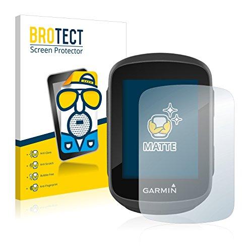 BROTECT 2X Entspiegelungs-Schutzfolie kompatibel mit Garmin Edge 130 Displayschutz-Folie Matt, Anti-Reflex, Anti-Fingerprint