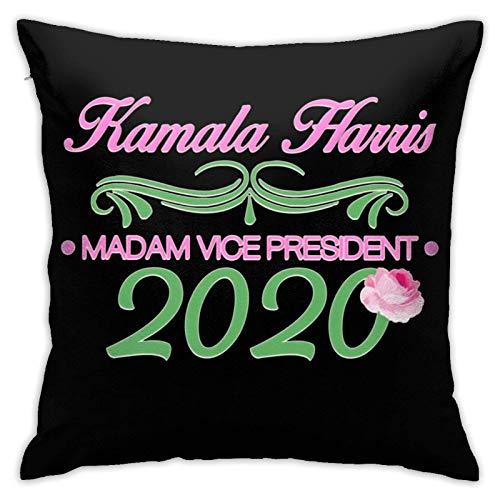 Kamala Harris Madam Vicepresident 2020 - Fundas de cojín para sofá, decoración del hogar, 45 x 45 cm