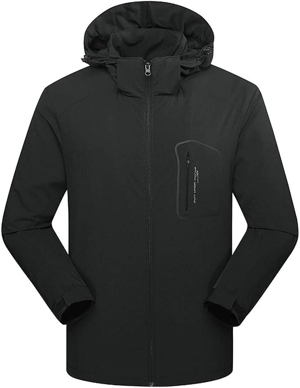 Artistic9-Kleidung Herren Herren Herren Jacke Wasserdicht und atmungsaktiv Softshell Funktionsjacke Outdoor Winterjacke Kapuze Mantel B07MMYYF2L  Jeder beschriebene Artikel ist verfügbar eb8423