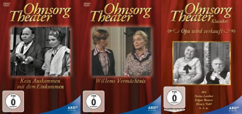 Ohnsorg Theater Klassiker Collection mit Heidi Kabel 3 DVD Edition
