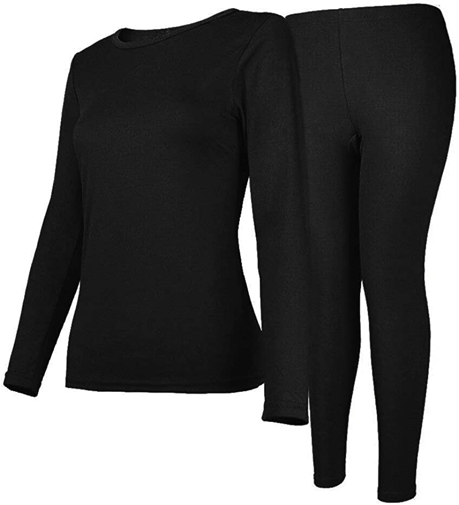 Womens Thermal Underwear Set Long with Jacksonville Mall Lined Fleece Dedication Johns Ultra