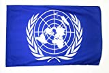 AZ FLAG Flagge VEREINTE Nationen UNO 90x60cm - United Nations Fahne 60 x 90 cm - flaggen Top Qualität