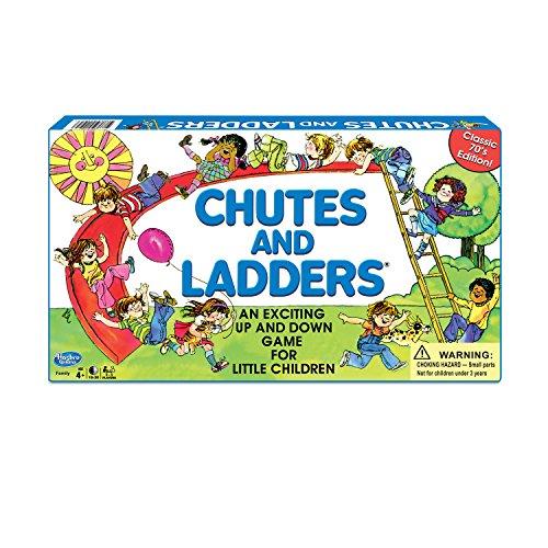 HASBRO GAMING:Chutes and Ladders Board Game