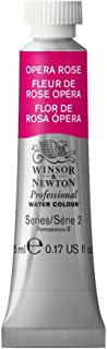 Winsor & Newton Professional Water Colour Paint, 5ml tube, Opera Rose