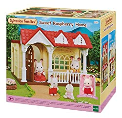 A one-storey house with an amazing entrance terrace It comes with poseable Chocolate Rabbit Baby and one bed with a slide Connect to other houses (sold separately) for even more fun pretend play Stimulates imaginative role-playing by children Suitabl...