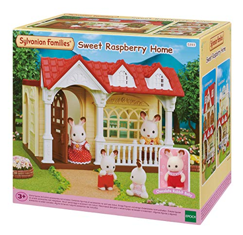 Sylvanian Families - Le Village - La Maison Framboise - 5393 - Maison de Poupée - Mini Poupées