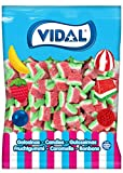 Vidal - Tajadas Sandia Azúcar, Caramelo de Goma, 1000 Gramos