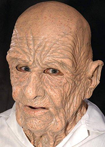 DOA Deluxe vieux homme doux masque en Latex