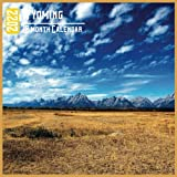 Wyoming Calendar 2022: 18 Month Calendar Wyoming, Square Calendar 2022, Cute Gift Idea For Wyoming Lovers Women & Men, Size 8.5 x 8.5 Inch Monthly