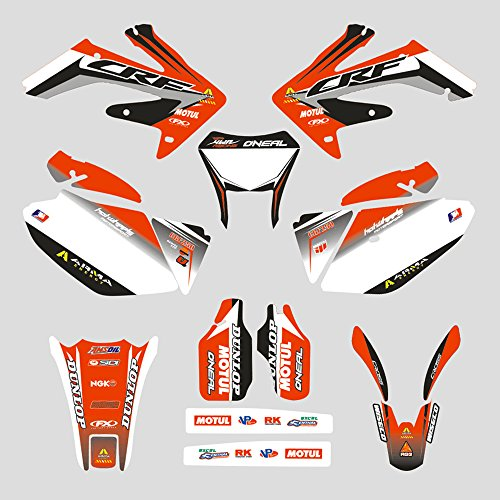 Team Racing Graphics kit compatible with Honda 2004-2017 CRF 250X SCATTER