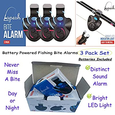 New Electronic Fish Bites Indicator Beats Fishing Bells for All Fishing. Best Fishing Accessories for catfishing Tackle, carp Fishing Equipment, Night Fishing, You'll Love This New Fishing bite Alarm from Lapesh