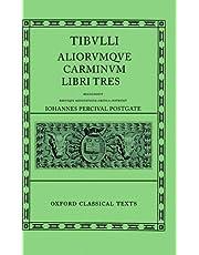 Tibullus Carmina (Oxford Classical Texts)