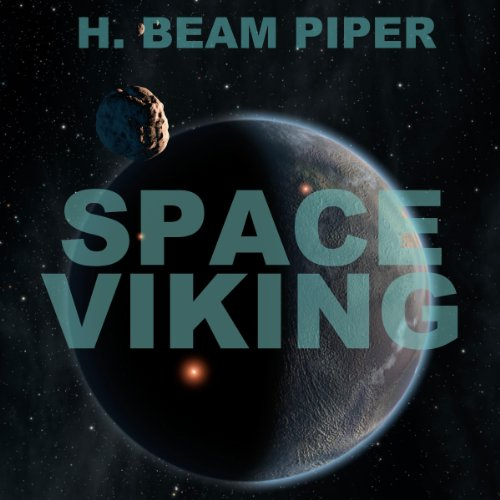 Space Viking audiobook cover art
