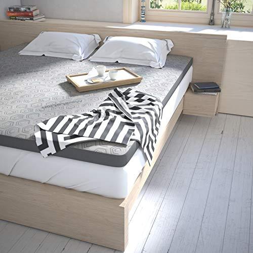 3-Zonen Komfort-Topper Matratzen Auflage Matratzentopper 8cm hoch in verschiedenen Größen (100x200cm)