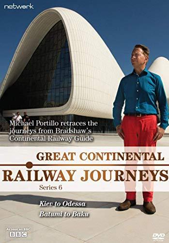 Great Continental Railway Journeys: Series 6 [DVD] [UK Import]