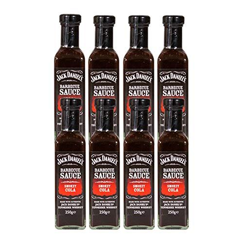 Original Jack Daniels Barbecue Sauce Smokey Cola / 8er Pack