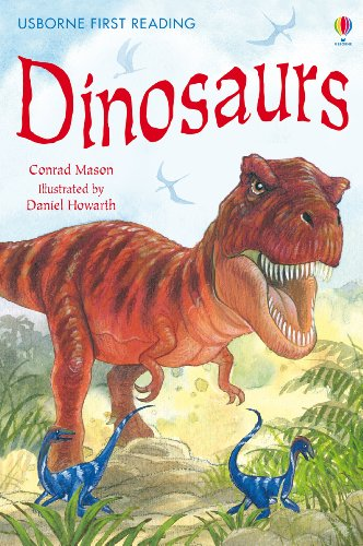 Dinosaurs: For tablet devices (Usborne First Reading: Level Three) (English Edition)