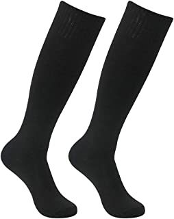 featured product Soccer Socks,  Feelingway Adult Stripe Athletic Solid Long Tube Socks 2/6/10 Pairs