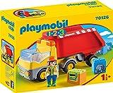PLAYMOBIL PLAYMOBIL-70126 1.2.3 Camion Basura, Multicolor, Talla única (1)