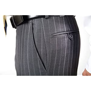 Mondo Uomo Explorer Regular Fit Charcoal Suit (Coat 40 R (Regular) / Pants Waist 34)