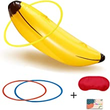 Bachelorette Party Games, Bridal Shower Girls Night Out Inflatable Banana Ring Toss Game Girls Party Drinking Games Funny Bachelorette Party Supplies