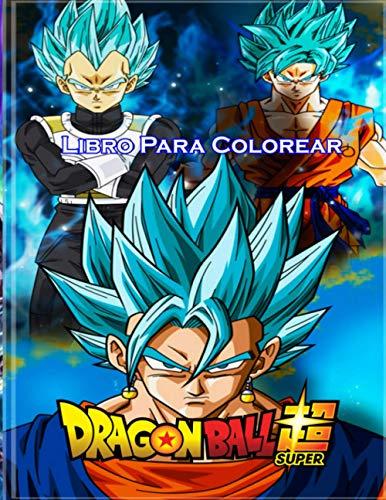 Dragon Ball Super Libro para colorear:...