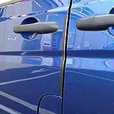 Bump Stop Front Or Rear Door Guard Clip Push On Protectors Edge Strip Black