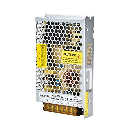 Fuente de alimentación conmutada Control Inteligente PWM Ultrafino Fuente de alimentación de Tira de luz confiable Impermeable para Tiras duras