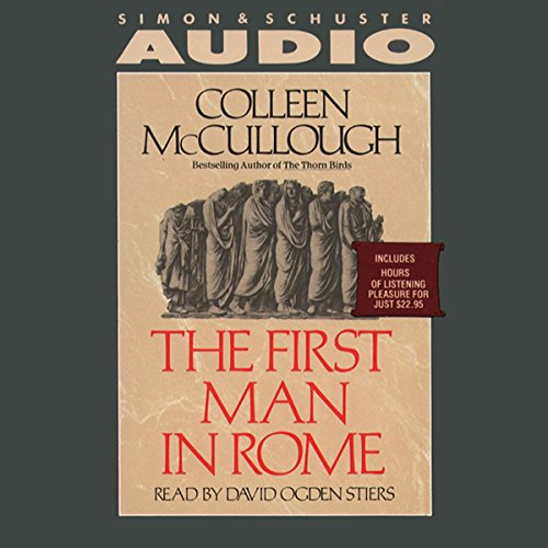 The First Man in Rome audiobook cover art