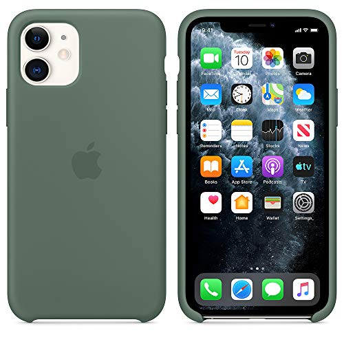 "1.Progettata da Apple per iPhone 11(2019)6.1"" Display, la custodia in silicone aderisce perfettamente ai tasti del volume e al tasto laterale, e avvolge le curve del telefono senza appesantirne il profilo. 2.All'interno, una morbida fodera in microfi..."
