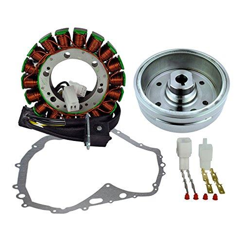 Kit Stator + Crankcase Gasket + Flywheel for Arctic Cat 400 Manual 2003-2008 | OEM Repl.# 3430-054/3430-071/0802-037/3430-053