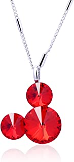 Twenty Plus Cute Mouse Necklace Pendant Birthday Jewelry Gifts for Women