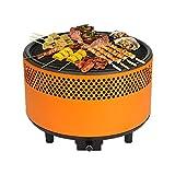 Kbabe Barbecue a Carbonella Barbecue a Carbonella Forno Portatile BBQ Pieghevole Robusto Griglia a Carbone Barbecue