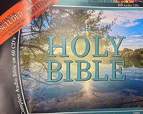 King james Version Audio Bible on 60 CDs-Plus Free Audio Bible, a 2nd Complete Audio Bible Free on MP3 Discs-Plus Free Tim LaHaye speaking on 'God's Plan for the Ages.'
