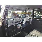 クラウン対応 突っ張り棒(小) 飛沫感染対策用ビニールシート 車ビニールカーテン 飛沫防止 保護シールド パーティション タクシー 日本製