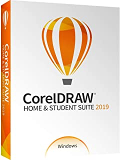 CorelDRAW Home & Student Suite 2019 for Windows [PC Disc] [Old Version]