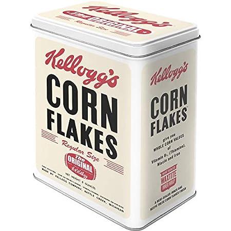 Nostalgic-Art 30113 Kellogg's Corn Flakes Retro Package, Vorratsdose L