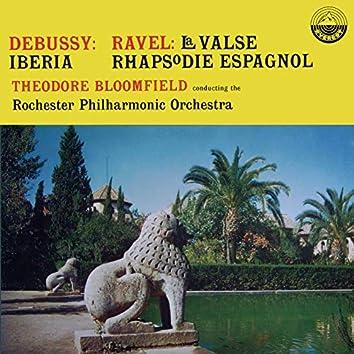Debussy: Iberia - Ravel: La valse, Rhapsodie espagnole