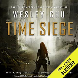Time Siege     Time Salvager, Book 2              Written by:                                                                                                                                 Wesley Chu                               Narrated by:                                                                                                                                 Kevin T. Collins                      Length: 18 hrs and 49 mins     1 rating     Overall 1.0