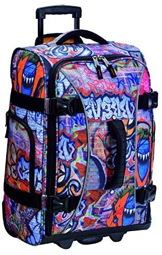 Athalon Luggage 21 Inch Hybrid Travelers Bag, Graffiti, One Size