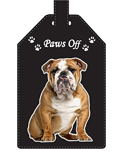 Bulldog Gift - Luggage Tag - Ideal Gift for Family, Friends and Dog Lovers